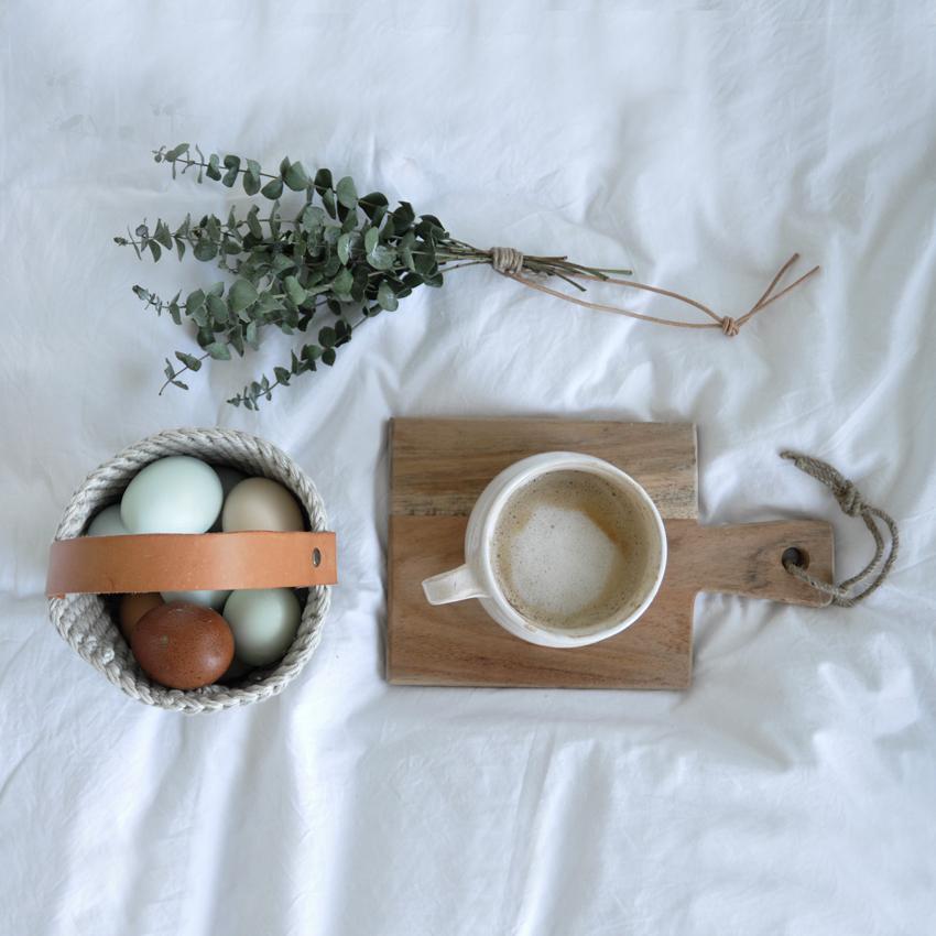 DIY Osterkorb 02 - Ein kleiner Korb