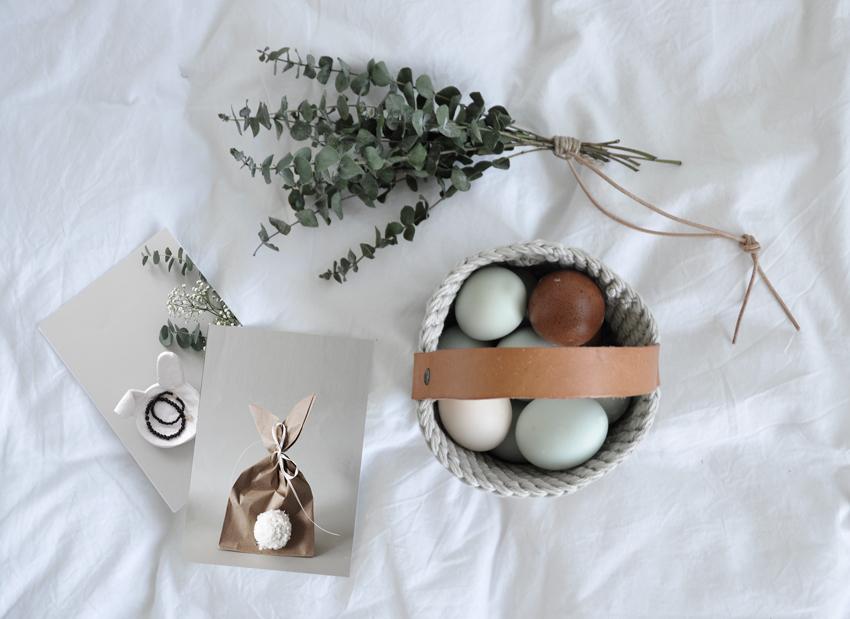 DIY Osterkorb Ostertutorials Titelbild - Ein kleiner Korb