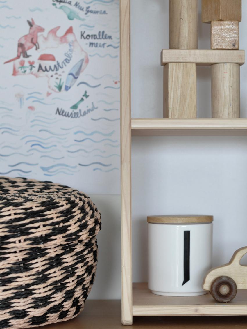 Kinderzimmer Korb Holzauto Puppenhaus - Kinderzimmer aufräumen leicht gemacht