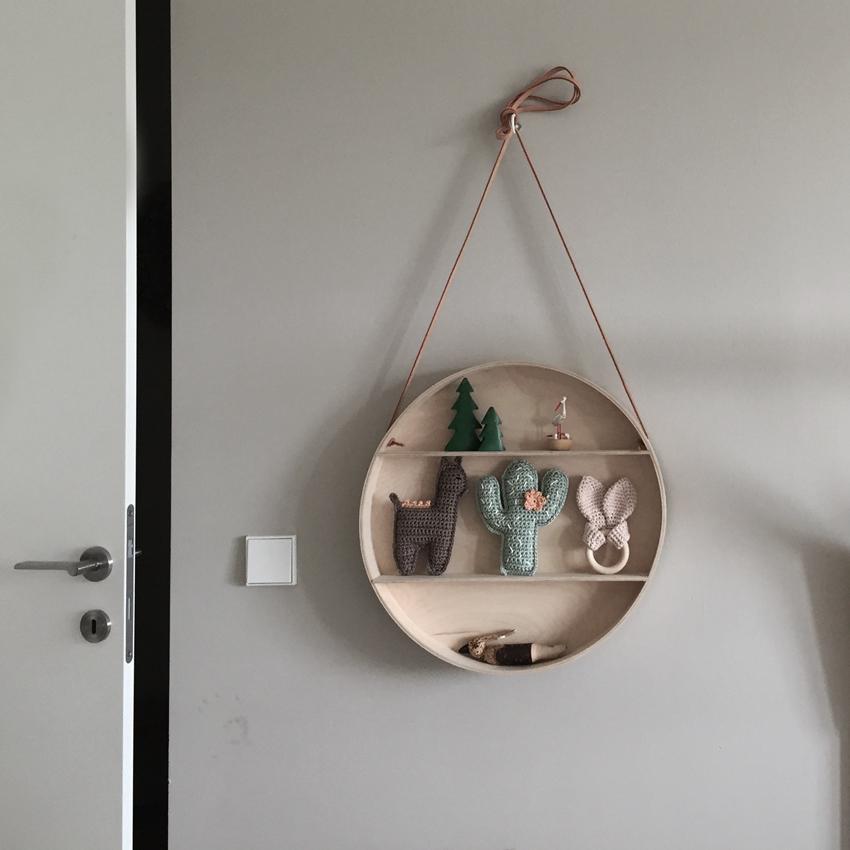Kinderzimmer Türklinke Regal rund Dekoration - Kinderzimmer aufräumen leicht gemacht
