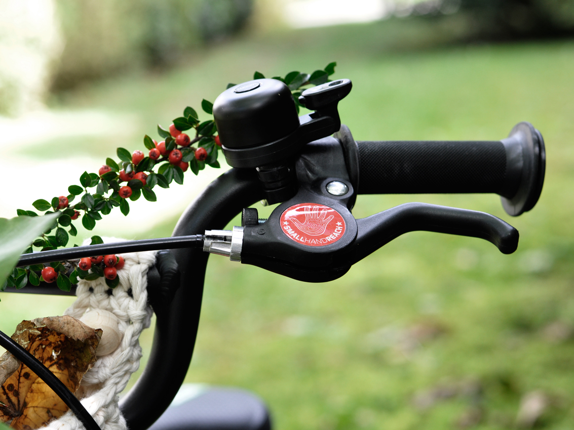 woom Kinderfahrrad Fahrrad Klingel Bremse - DIY Fahrradkorb für Kinder