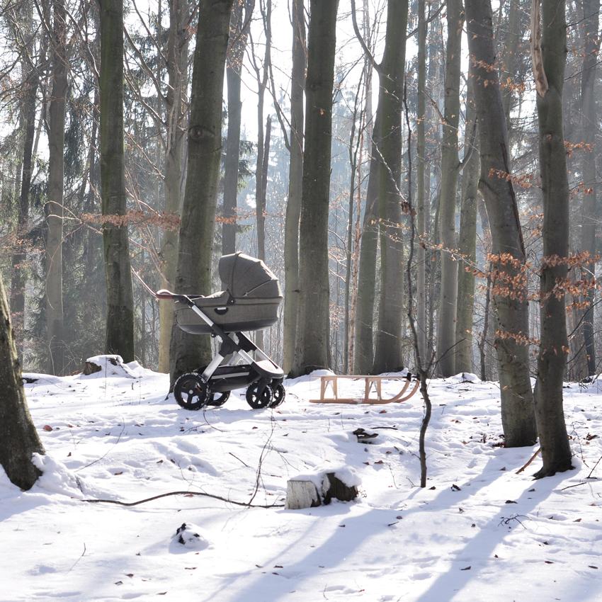 Stokke Trailz nordic green Babyschale Schnee - Was der Trailz Nordic Green von Stokke mit meinem Hochzeitskleid zu tun hat