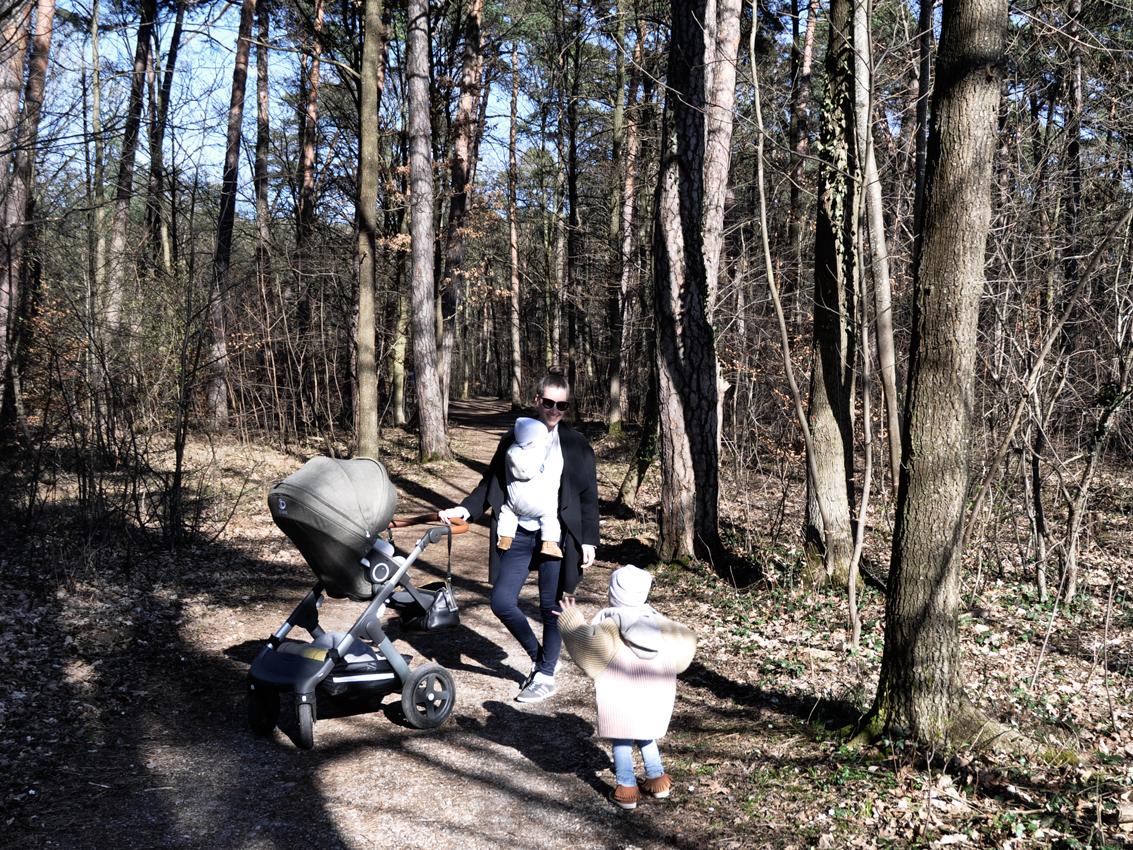 Stokke Trailz nordic green Sportsitz Wald - Was der Trailz Nordic Green von Stokke mit meinem Hochzeitskleid zu tun hat