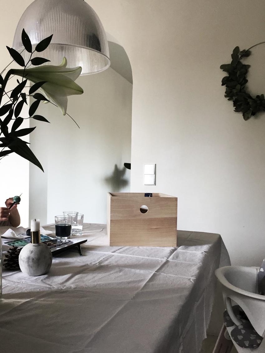 Bastelkiste Esstisch Holzkiste - Möbel richtig nutzen | unser intelligentes Bücherregal