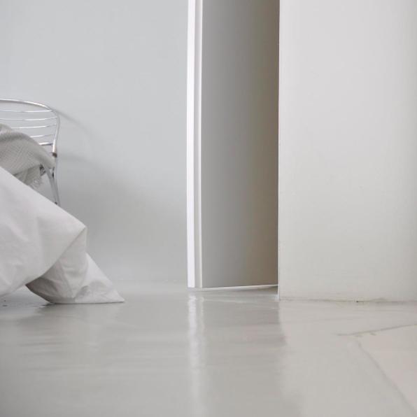 Boden Spachtelboden Zementspachtelung - pictured