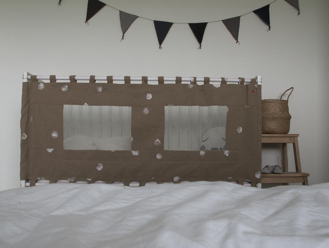 DIY Bettabtrennung Reisebett4 Rockmyday - Vom Beistellbett zum Gitterbett in unter 2 Sekunden