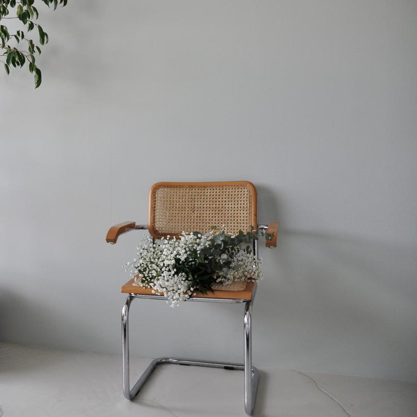 Stuhl Thonet Marcel Breuer Holz - Mut zur Farbe | Ein Schlafzimmer in Grün