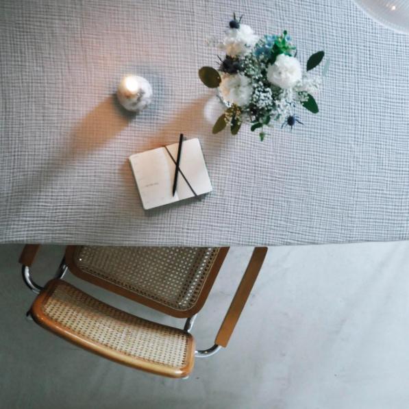 Tisch Esstisch Kerze Familienplanung - pictured
