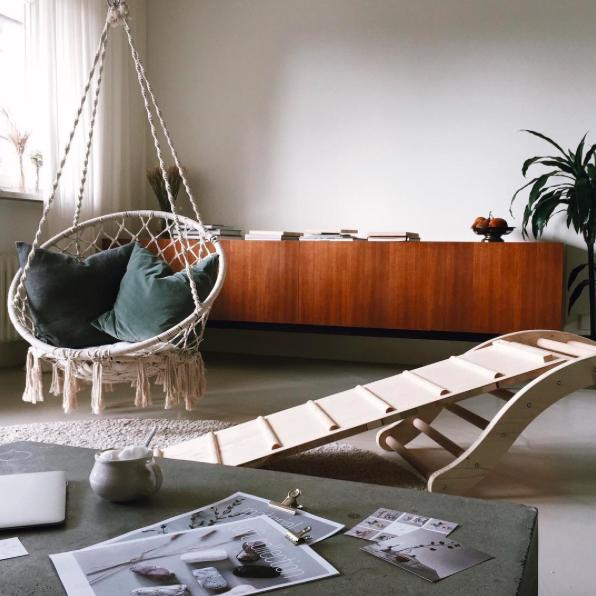 Wohnzimmer Sprossenleiter Emmi Pikler - pictured