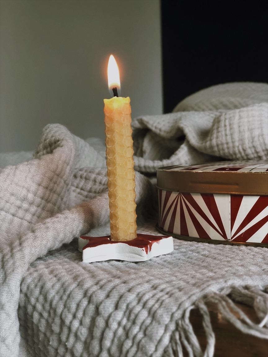 Kerzenstaender Stern Blechdose vintage - Zauberhafte Kerzenständer   last minute geht auch schön
