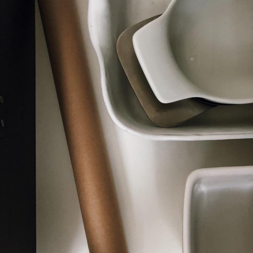Kuechenschublade minimal zerowaste Auflaufform cleanliving - Nachhaltig in meiner Küche   Natürlich putzen