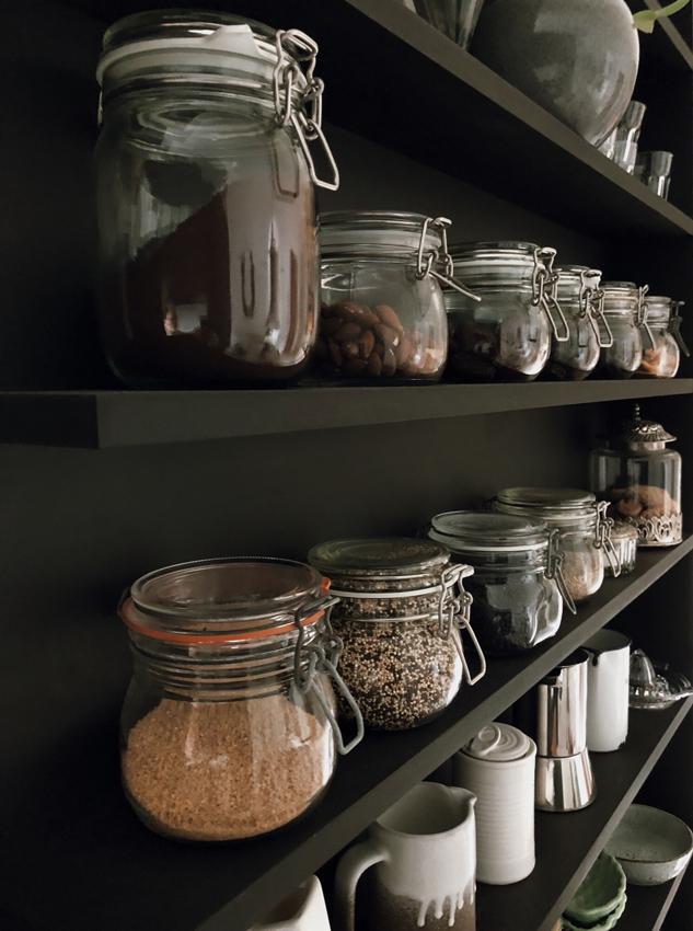Regal Vorrat Vorratskammer zerowaste nachhaltig Einmachglaeser - Nachhaltig in meiner Küche   Natürlich putzen