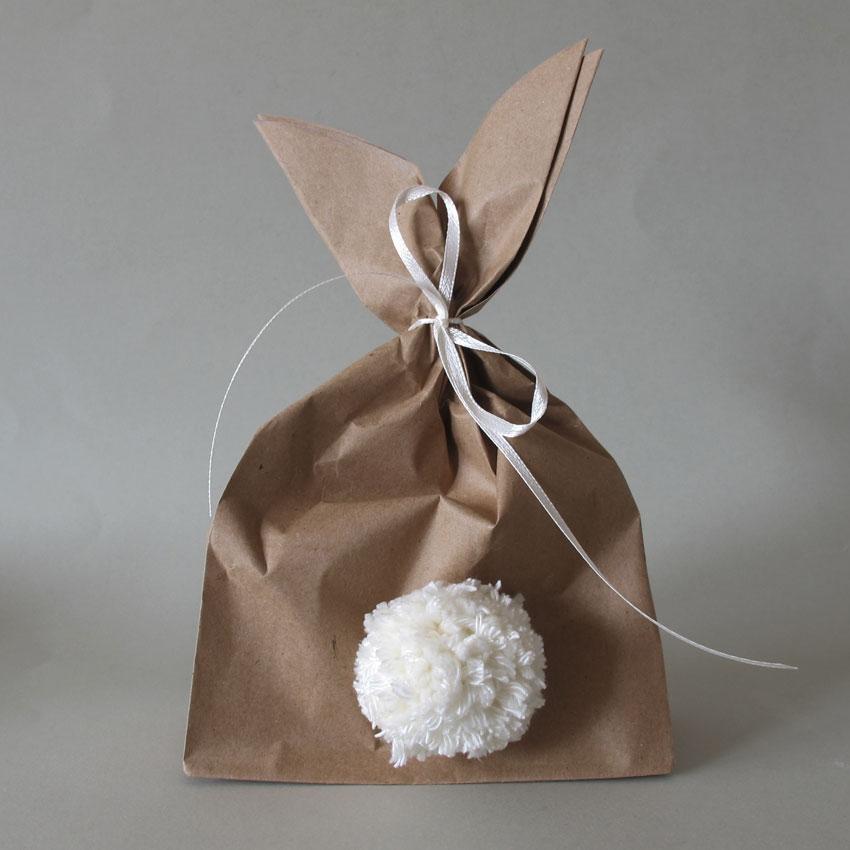 Verpackung Geschenk Ostern Papiertüte Wrapping - Einfach & simpel | Diy Impressionen für den perfekten Ostertisch