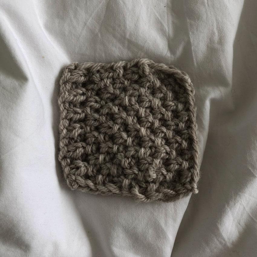 1Quadrat gestrickt Muster - DIY | gestrickter Osterhase | simpel einfach schön