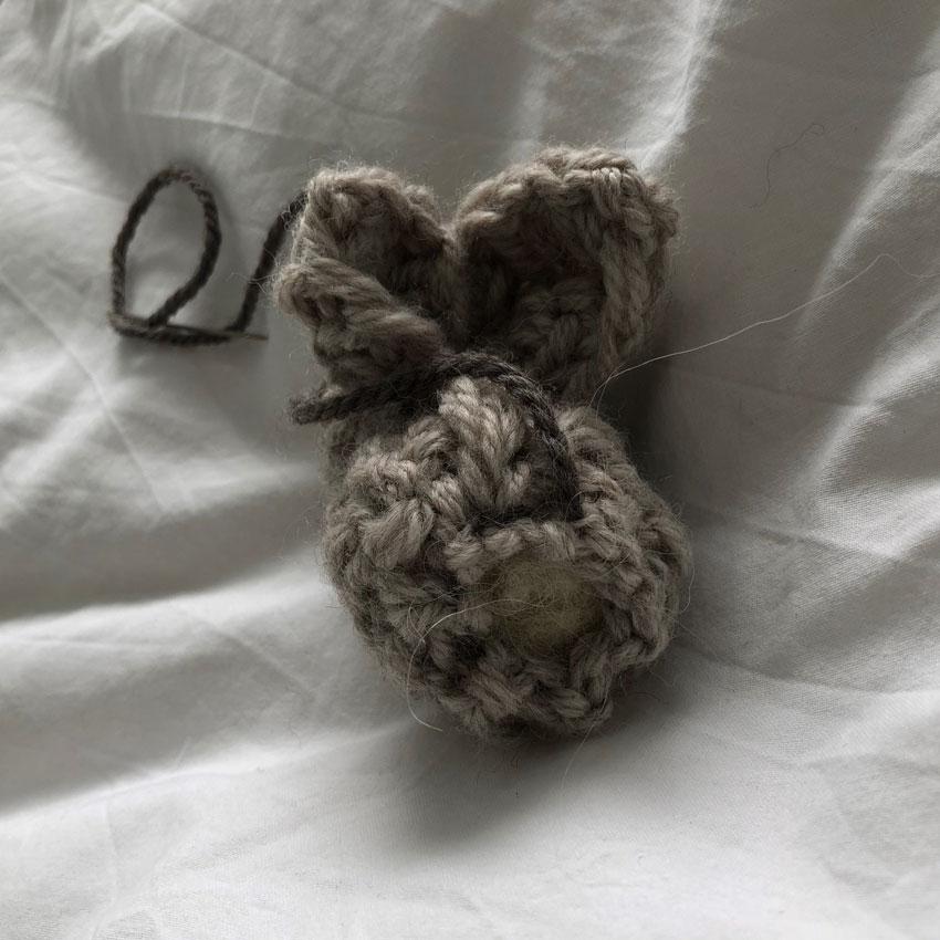 5 Osterhase Kuscheltier GOTS Merino organisch gestrickt - DIY | gestrickter Osterhase | simpel einfach schön