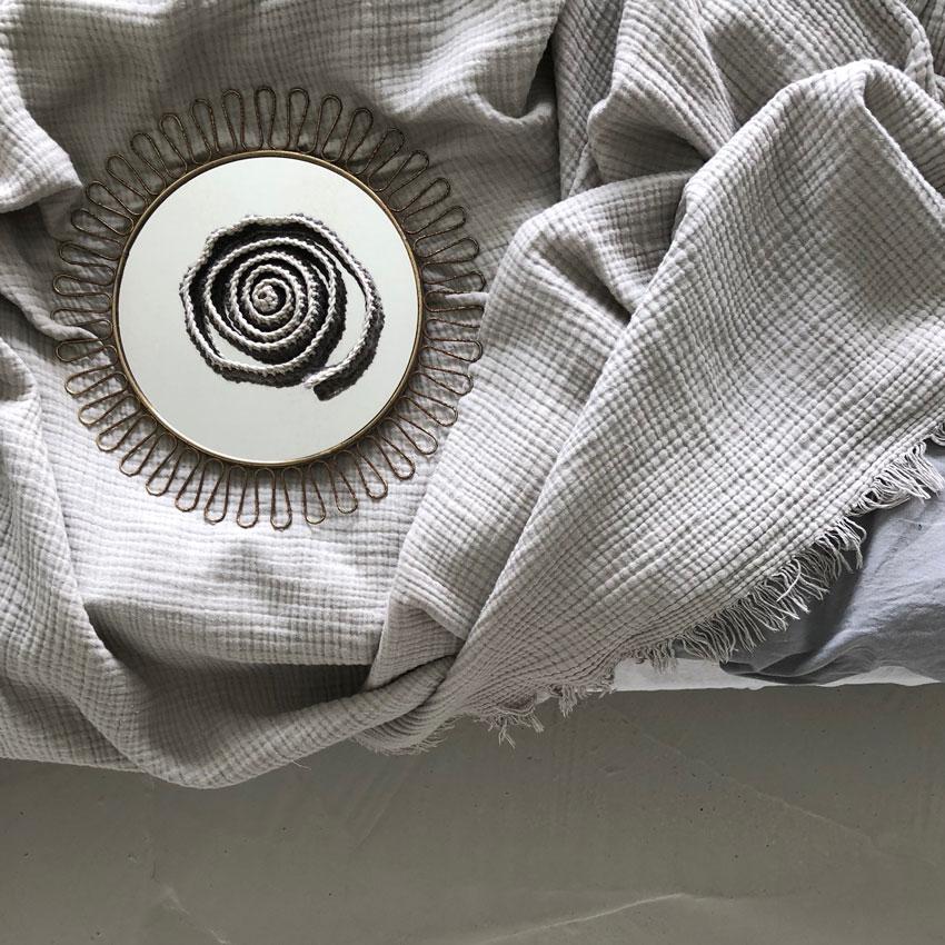 schneckenband spiegel decke bett waldorf - Schneckenbänder nach Waldorf