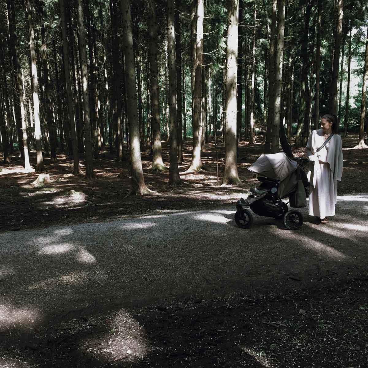 Babyjogger Kinderwagen Poing Tierpark Wald Sommer - How we stoll | 4 Jahre mit dem Babyjogger