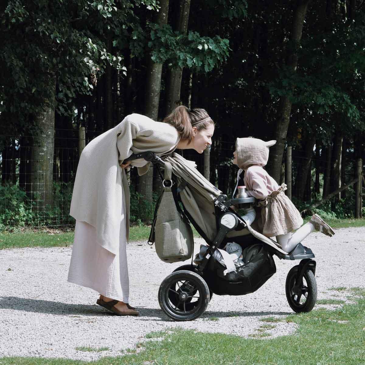 Babyjogger Kinderwagen Poing Wildpark Tierpark Sommer Mutter Tochter - How we stoll | 4 Jahre mit dem Babyjogger
