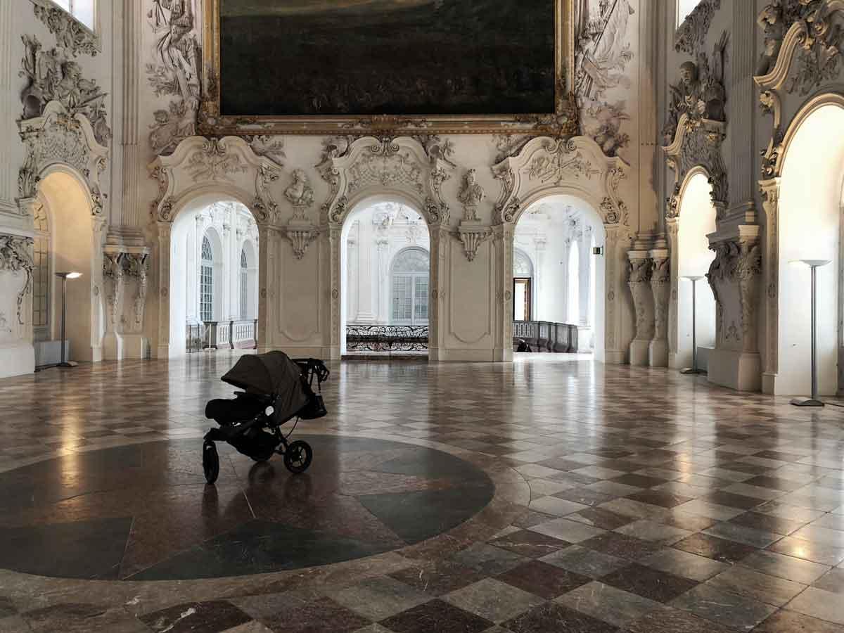 Babyjogger Kinderwagen Schloss Oberschleißheim Schleißheim - How we stoll | 4 Jahre mit dem Babyjogger
