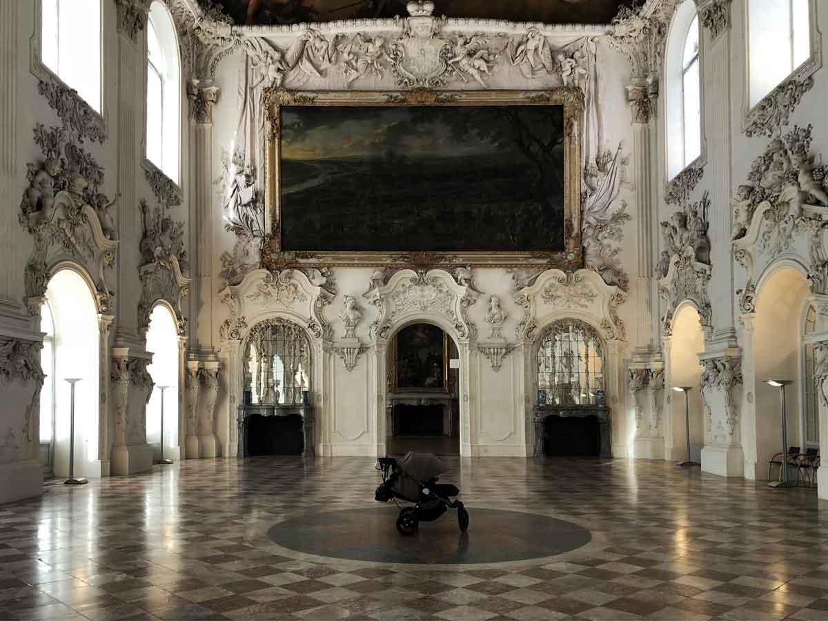 Babyjogger Kinderwagen Schloss Oberschleißheim Schleißheim Saal - How we stoll | 4 Jahre mit dem Babyjogger