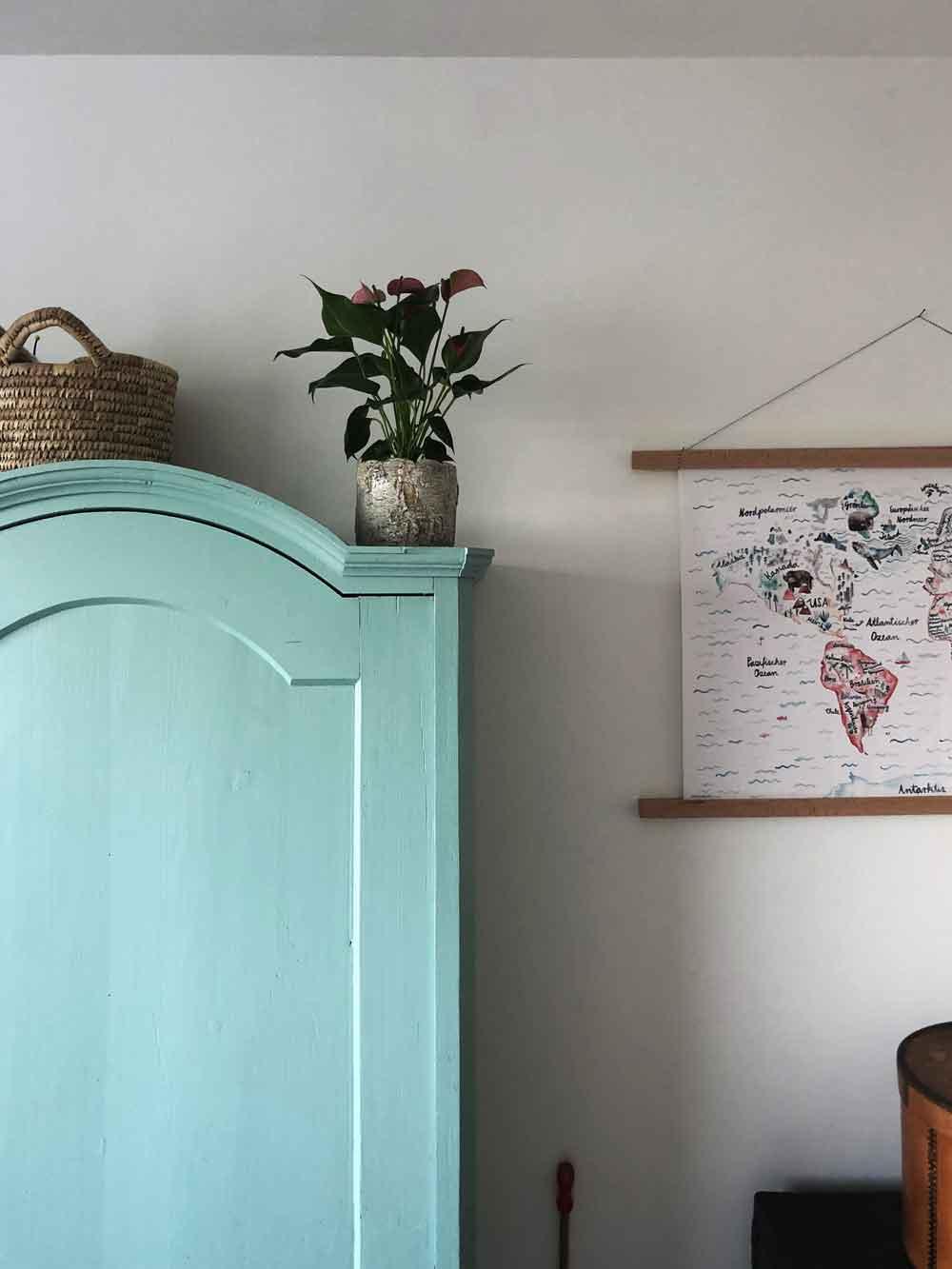 DIY Bilderrahmen Holz einfach Holzleiste Poster Kinderzimmer Bauernschrank Pflanze - DIY | Bilderrahmen in unter 2 Minuten einfach selber machen