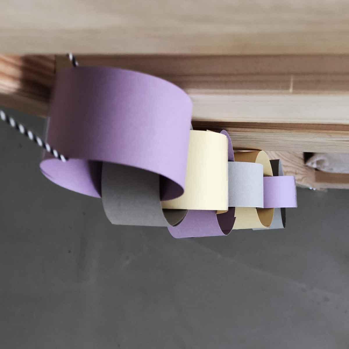 Geburtstag Countdown Girlande Bett Holz Papier Kinderzimmer haengend - Kindergeburtstag | Von Einhörnern und dem Warten auf den großen Tag