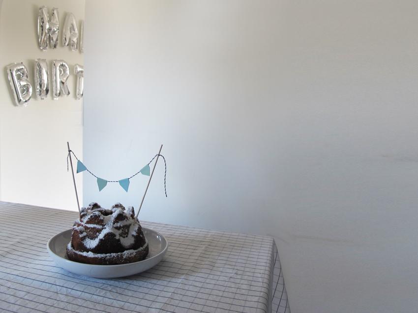 DIY 5Min Kuchengirlande 07 - Einen Kuchen dekorieren unter 5 Minuten