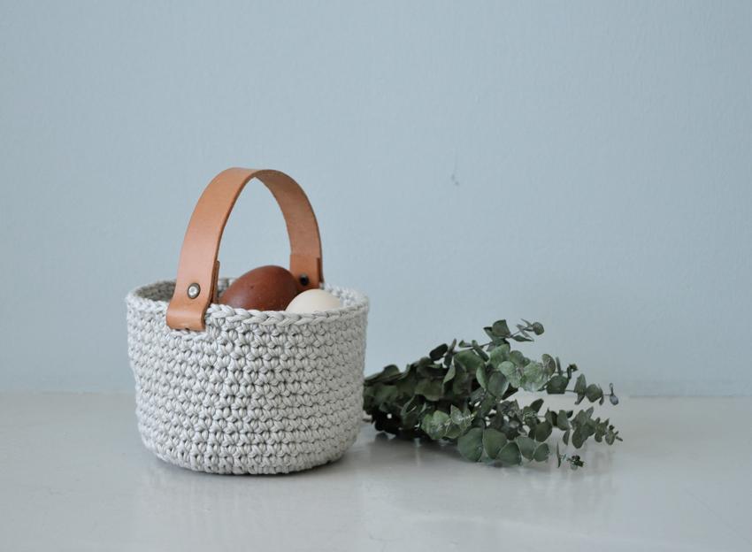 DIY Osterkorb 03 - Ein kleiner Korb