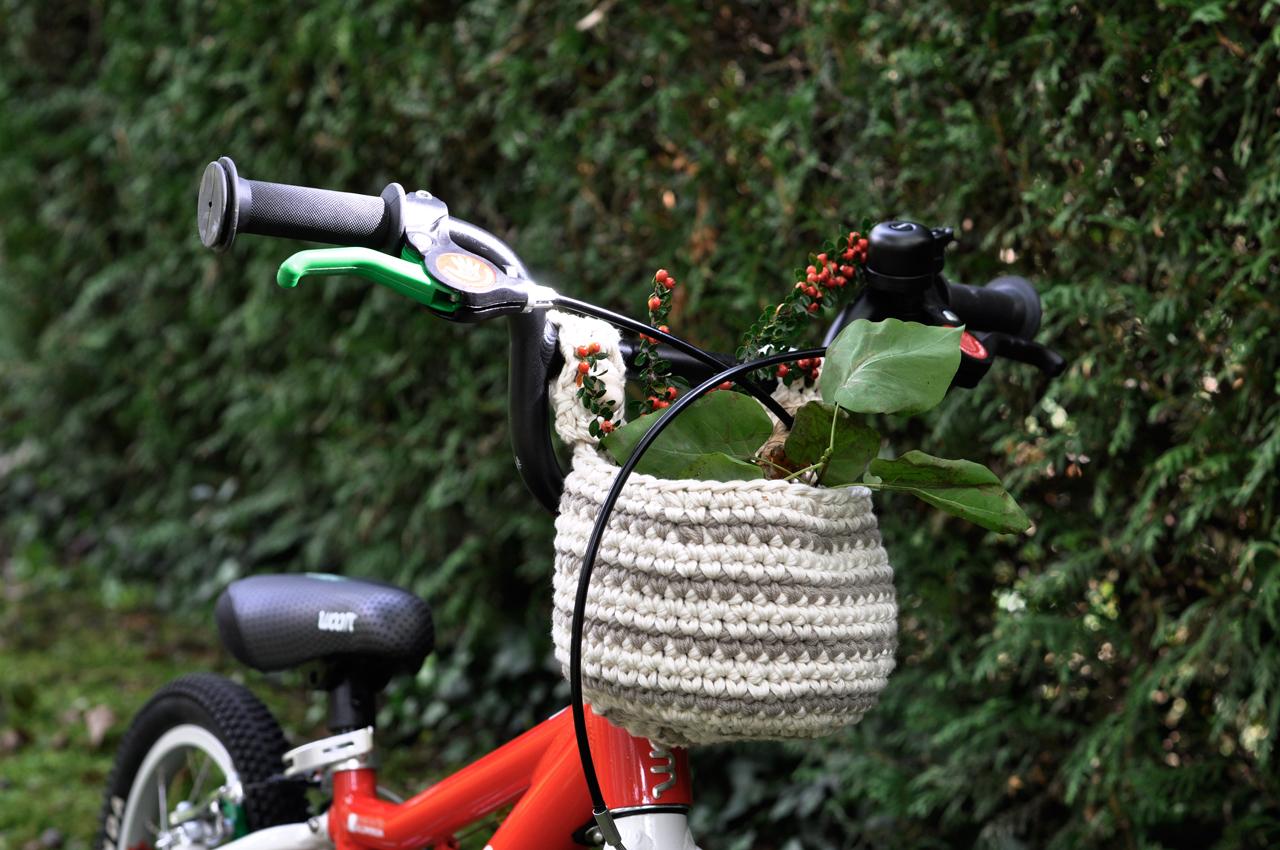 woom Fahrrad Fahrradkorb Kinderbike - DIY Fahrradkorb für Kinder