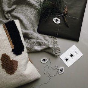 Geschenanhaenger - Geschenkpapier + Karte EYE