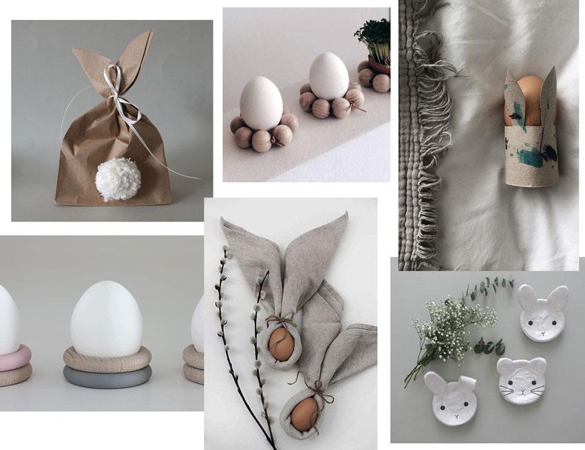 Bastelideen Ostern Tischdekoration - Einfach & simpel | Diy Impressionen für den perfekten Ostertisch