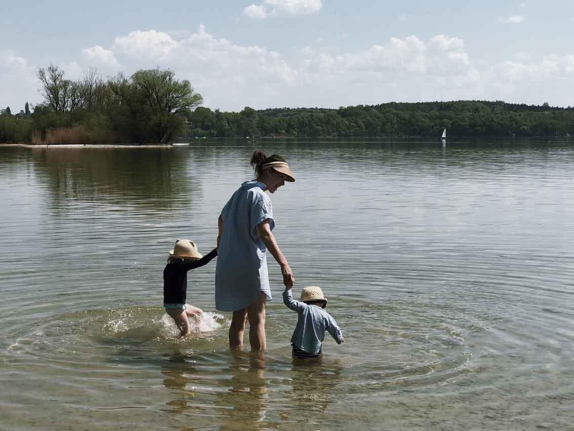 Ammersee Wasser Familie Natur See Bayern Kraul - Neu im Shop | Lernen von den Elementen mit KRAUL