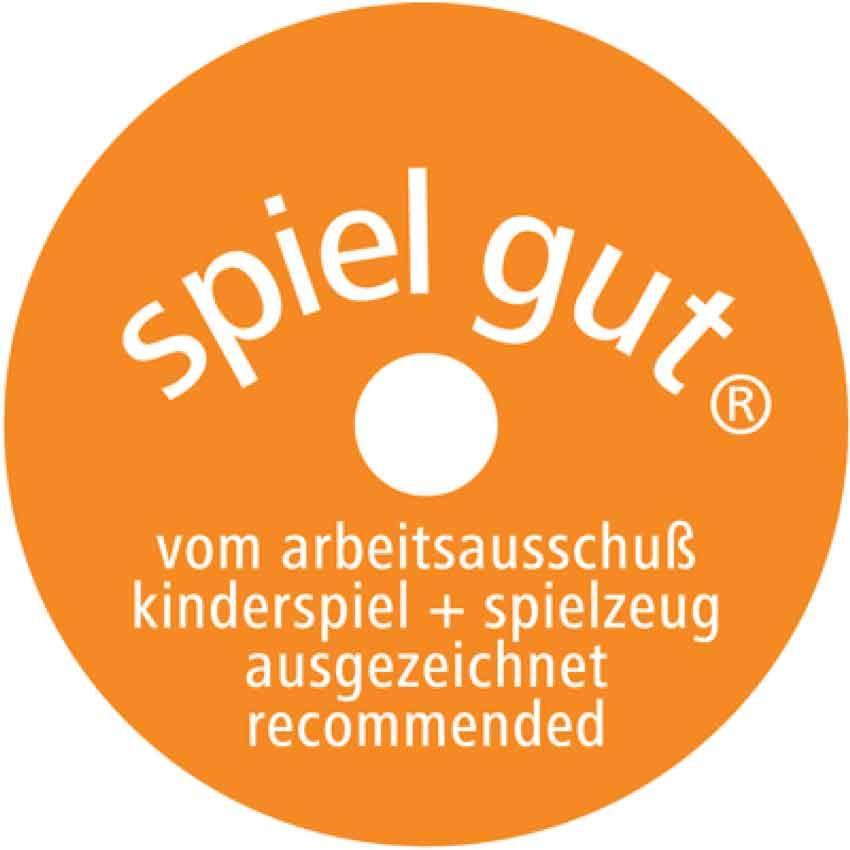 Spielgut Logo - Holzstifte | sechseckig | 12+1