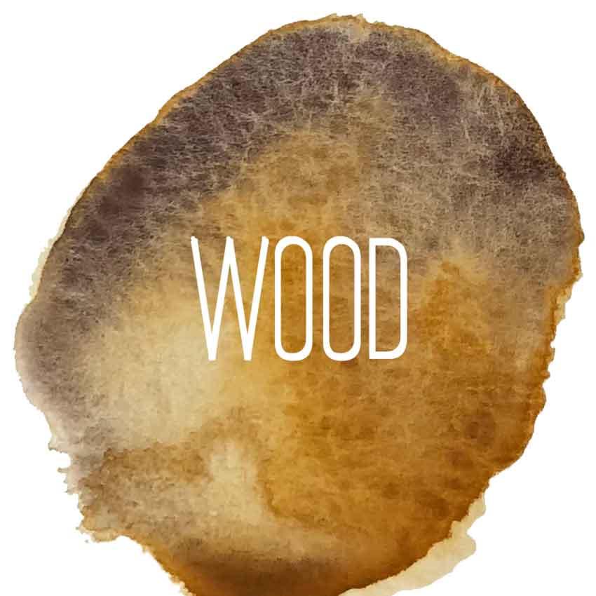Wood Logo - Holzstifte | sechseckig | 12+1