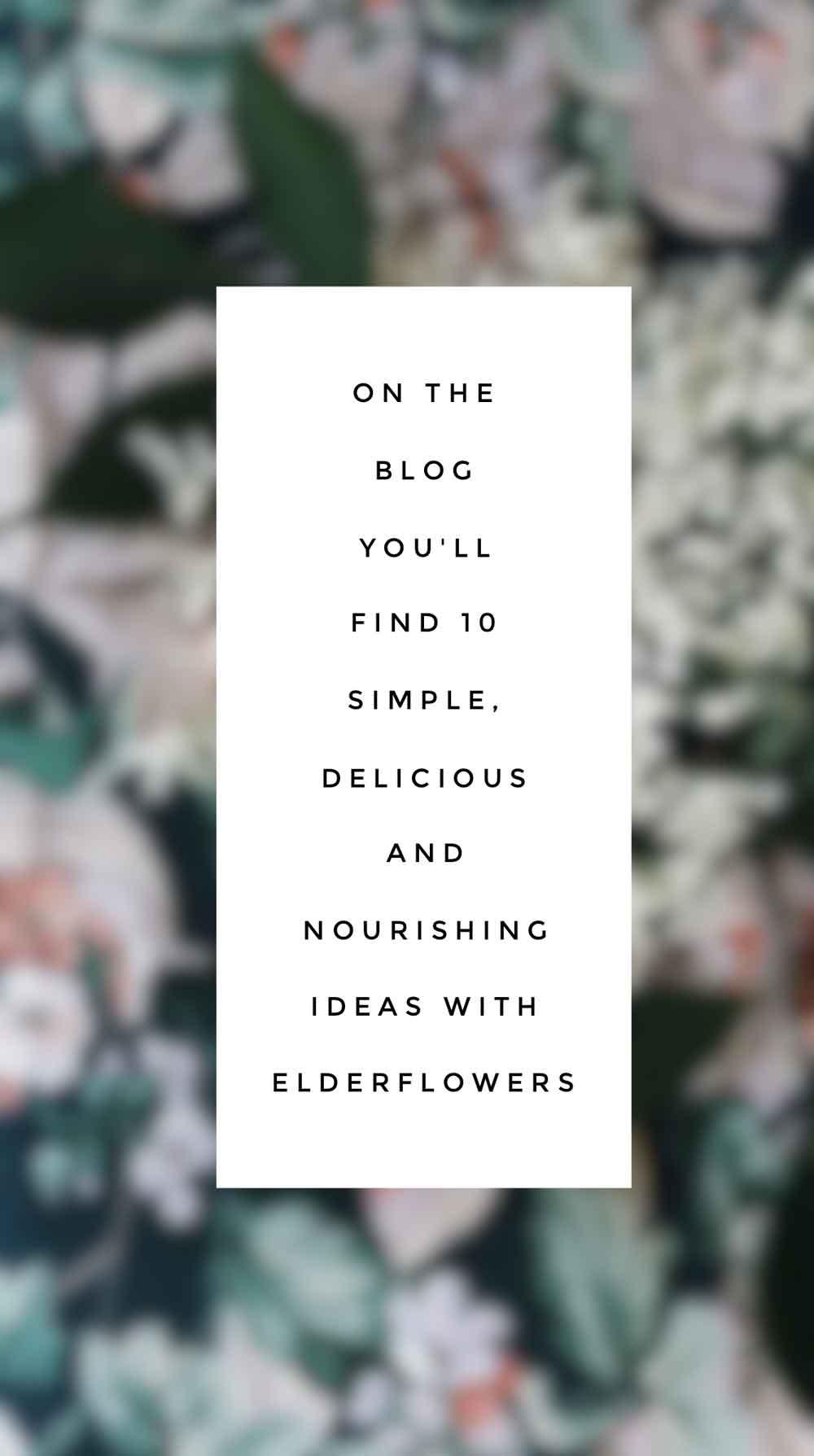 Holunder Rezepte Ideen Pinterest englisch - 10 Ideen die du dieses Wochenende mit Holunderblüten machen kannst