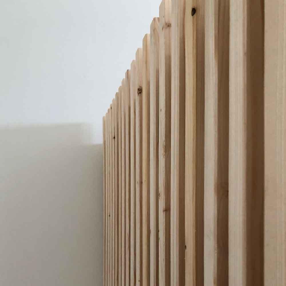 Kinderbett Latten Holzverkleidung Stockbett diy - DIY | ein Stockbett aus Holz einfach selber machen