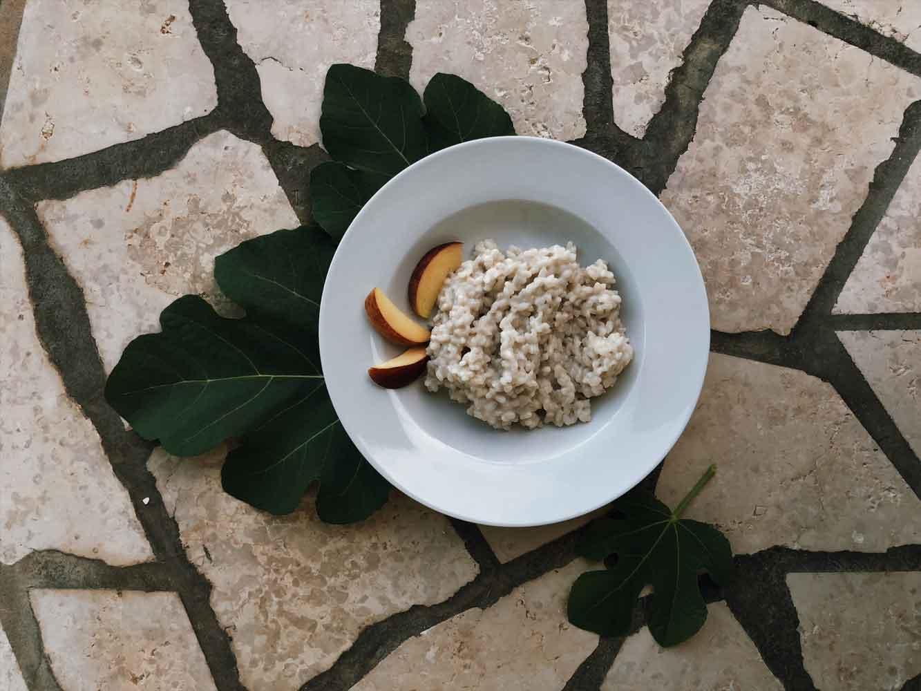 Kokosmilchreis zuckerfrei Milchreis Breirezept Sommergericht - Coconut Milkrice   köstlich ohne Zucker