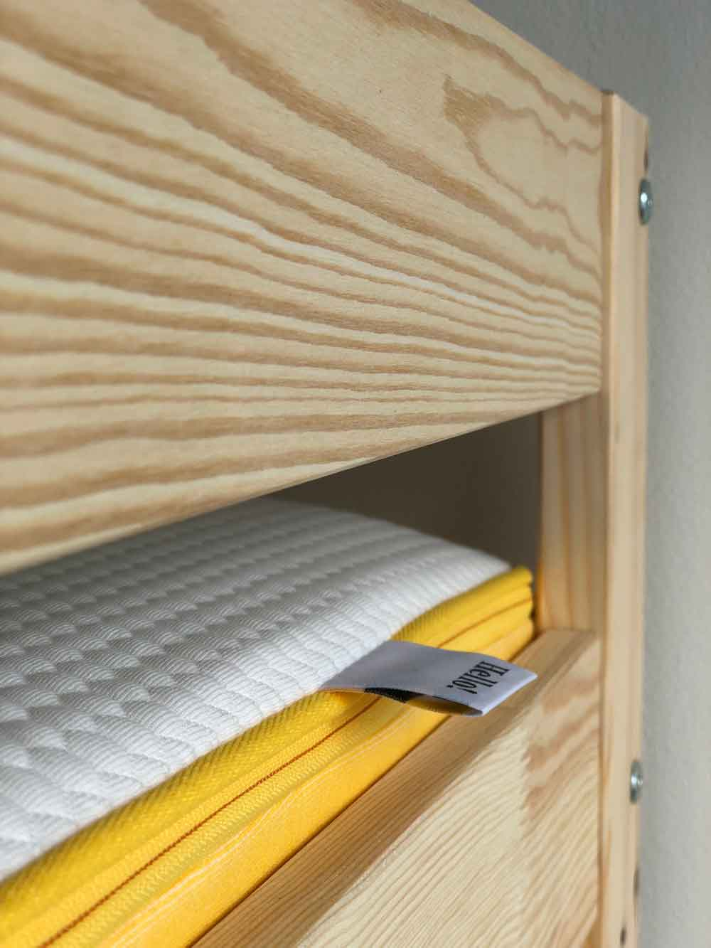 Matratze Kind eve Stockbett - DIY | ein Stockbett aus Holz einfach selber machen