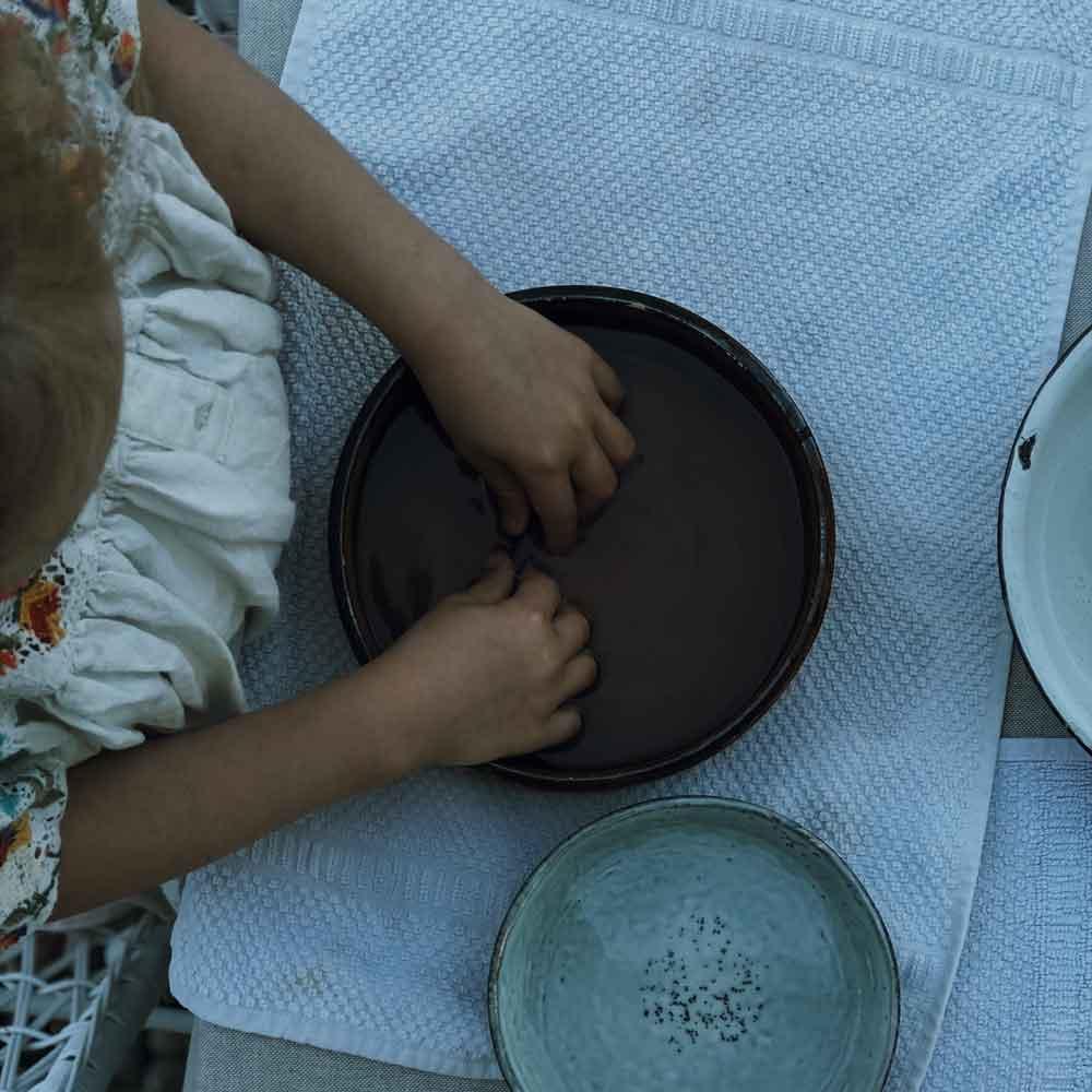 Naßfilzen Essigbad filzen Kind basteln - Grundkenntnisse im Naßfilzen mit Kindern