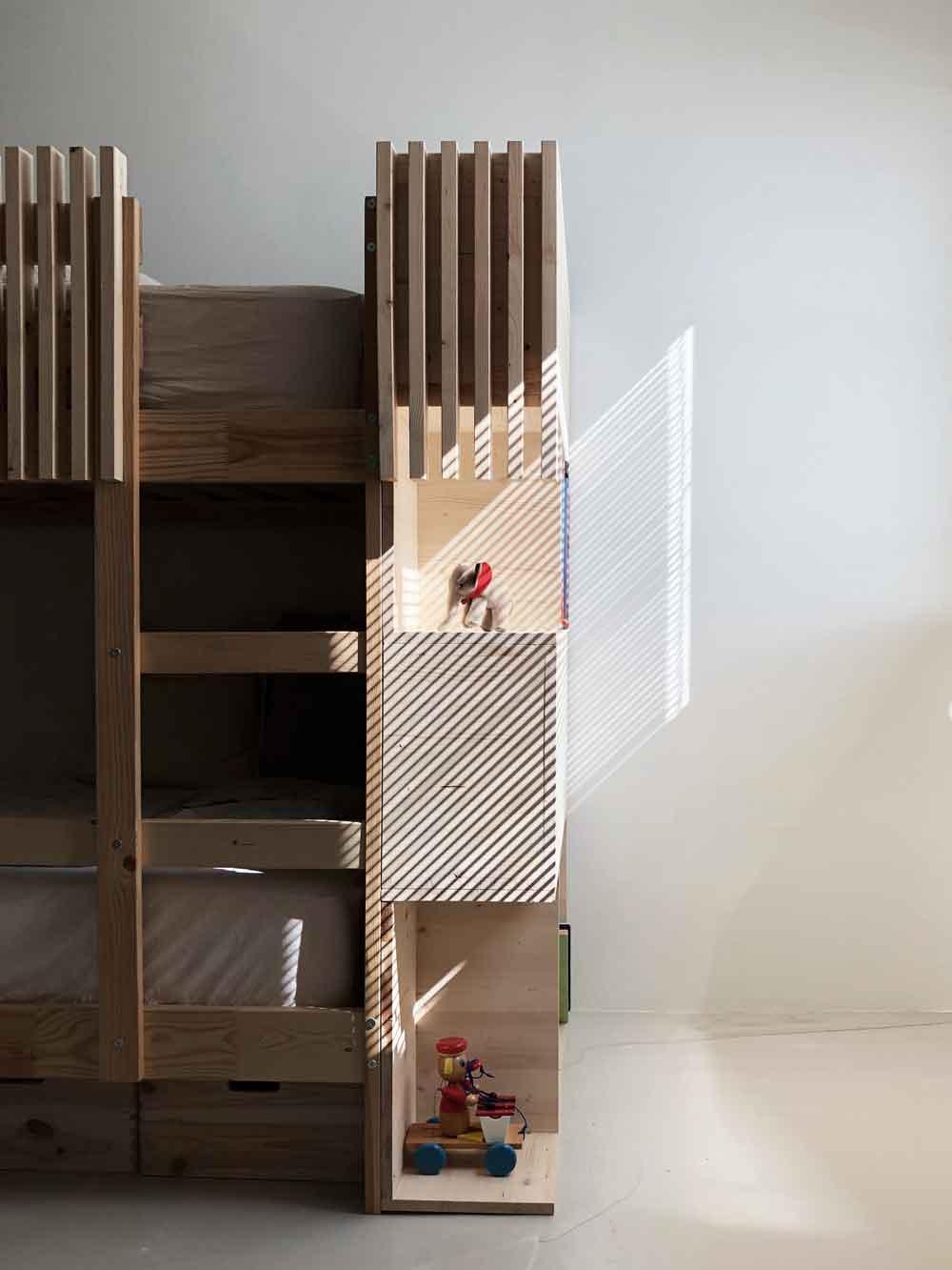 Schatten Stockbett Holzbett Kinderbett - DIY | ein Stockbett aus Holz einfach selber machen
