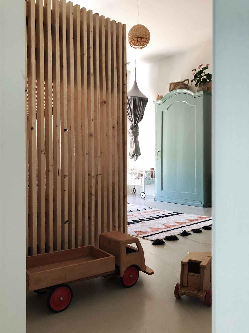 Stockbett Kinderzimmer vintage Holzbett Holzmoebel - DIY | ein Stockbett aus Holz einfach selber machen