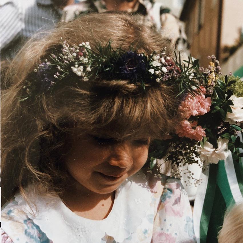 Blumenkranz Haarschmuck Kinderfest - DIY | wunderschöne Blumenkränze - einfach und simpel