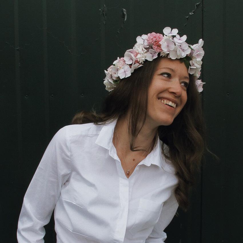 Blumenkranz Kinderfest Haarschmuck - DIY | wunderschöne Blumenkränze - einfach und simpel