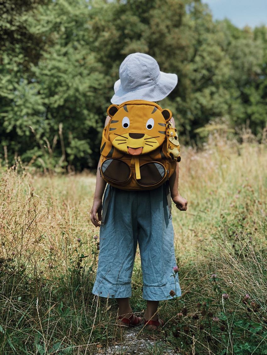 17 Rucksack Filztiger Talisman Glücksbringer - DIY | Ein Wegbegleiter für einen entspannten und schönen Start in den Kindergarten