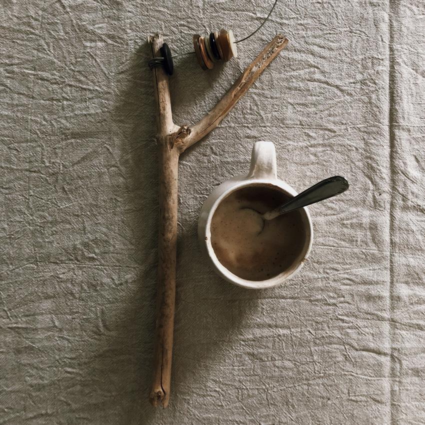 2 Musikinstrument Gloeckchen Knoepfe - DIY   KW 32