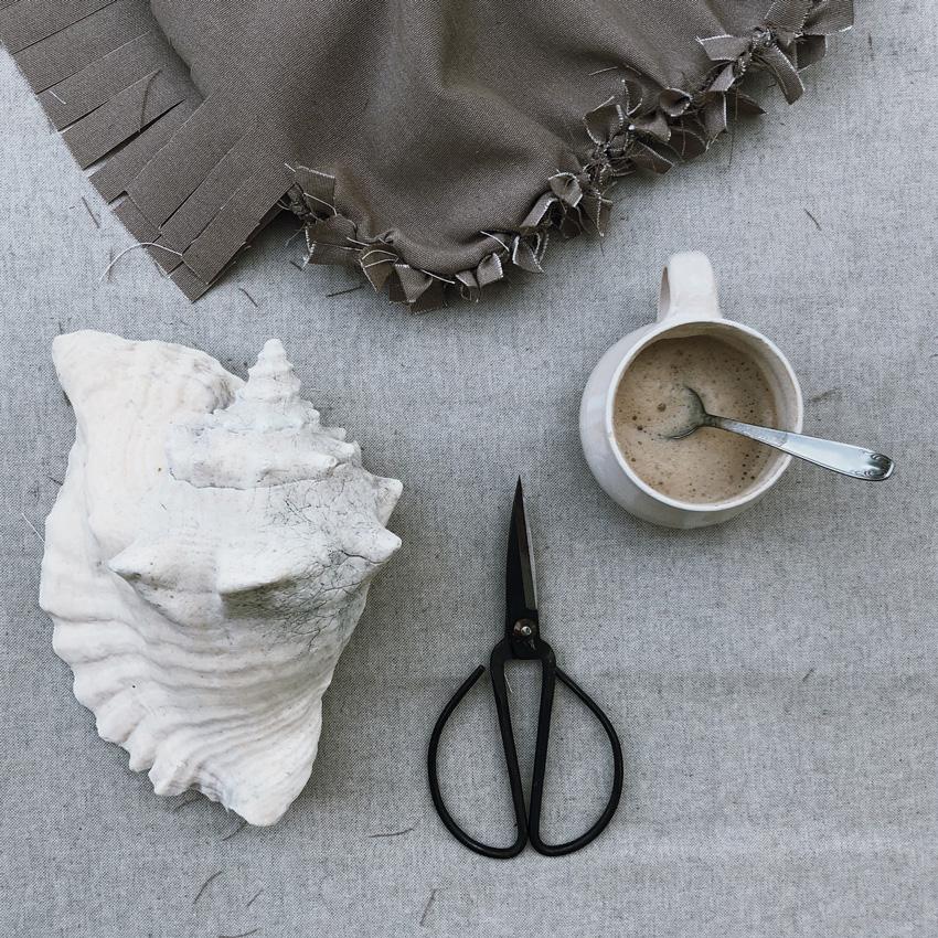 3 Kissen Knoten upcycling basteln - DIY   KW 32
