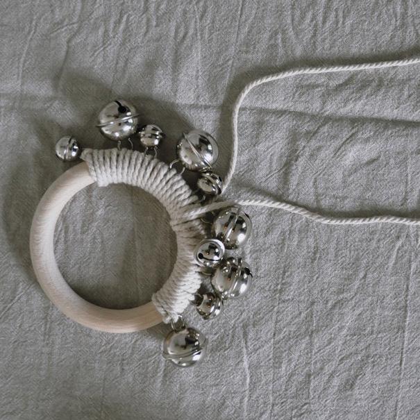 5 Musikinstrument Gloeckchen Knoepfe - DIY   KW 32