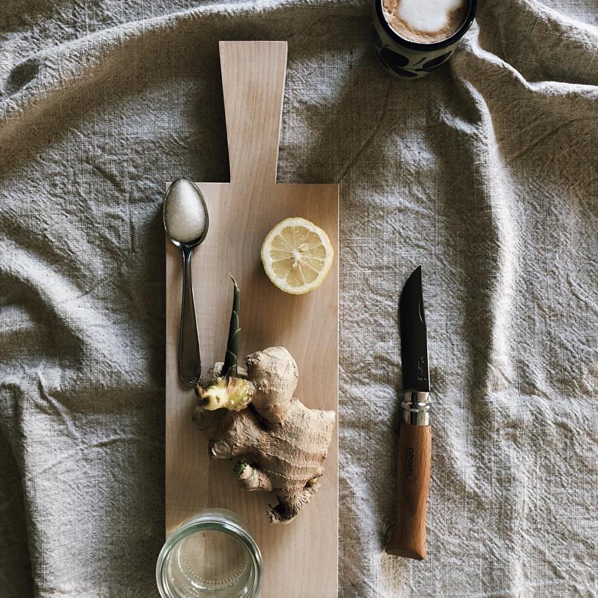 1 coffeeDIY Ingwersirup - DIY | KW 37