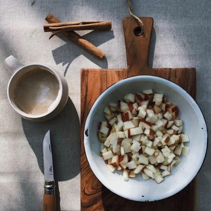 2 Apfeltee Zimt Apfelernte Rezept - DIY | KW 35