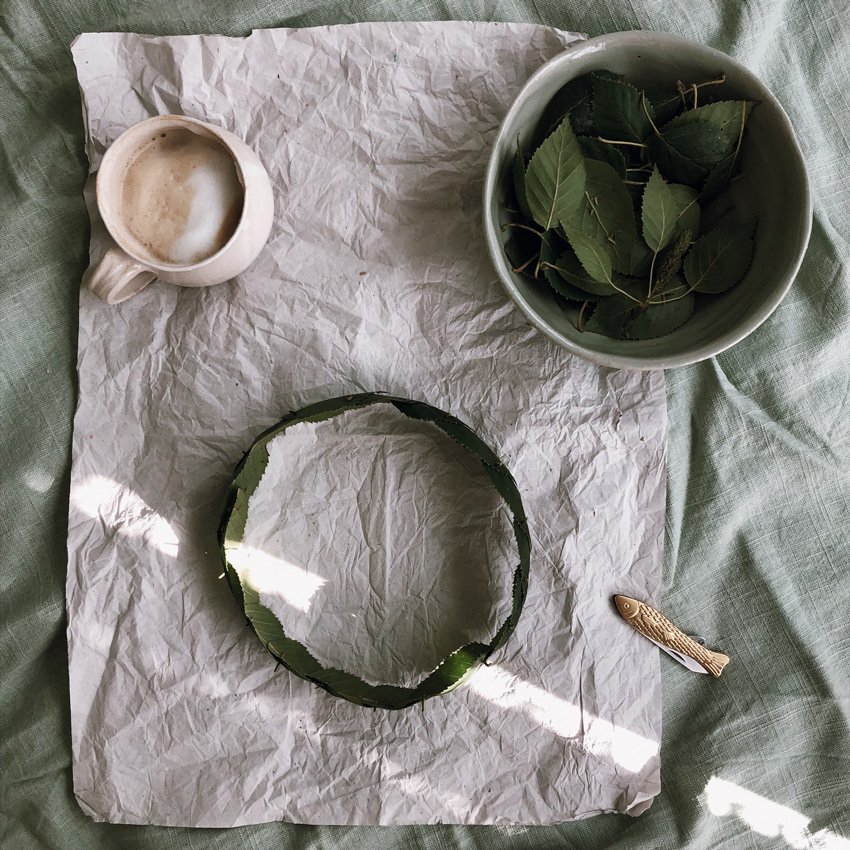 3 coffeeDIY Blaetterkrone echt - DIY | KW 37